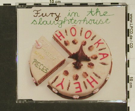 Fury In The Slaughterhouse: Cut Myself Into Peaces+3, SPV(), D, 1991 - CD5inch - 97063 - 4,00 Euro