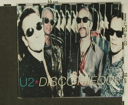 U2: Discotheque+2,Digi, Island(), UK, 1997 - CD5inch - 97228 - 4,00 Euro