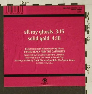 Black,Frank & Catholics: All my Ghosts / Solid Gold, Digi, Play it ag(), , 98 - CD5inch - 97233 - 3,00 Euro