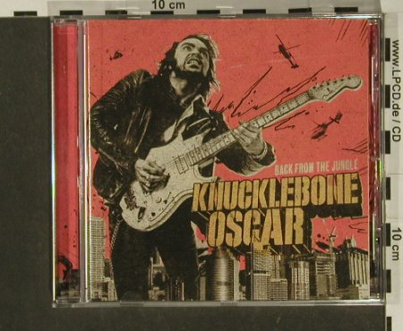 Knucklebone Oscar: Back From The Jungle, Bluelight(BLR 33139-2), EU, 2007 - CD - 97276 - 7,50 Euro