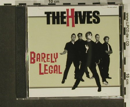 Hives(The): Barely Legal, Burning H.(), S, 1997 - CD - 97306 - 7,50 Euro