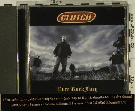 Clutch: Pure Rock Fury, Atlantic(), D, 2001 - CD - 97431 - 7,50 Euro