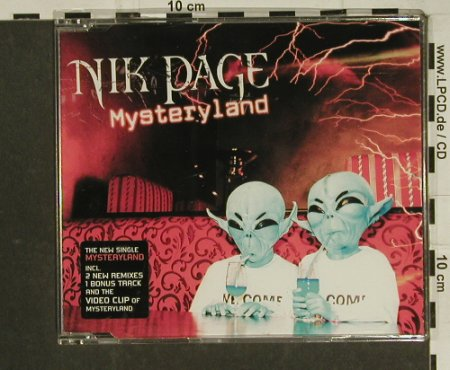 Page,Nik: Mysteryland+3+video, Wannsee(), EU, 2004 - CD5inch - 97447 - 2,50 Euro