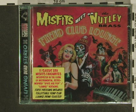 Misfits meet Mutley: Fiend Club Lounge, FS-New, Ryko(), US, 2005 - CD - 97482 - 10,00 Euro