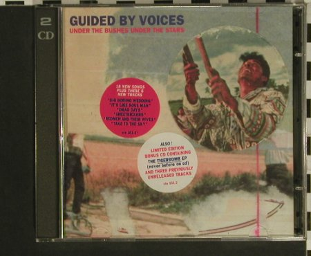 Guided By Voices: Under The Bushes Under The Stars, Matador, 33Tr.(OLE 161-2), US,Lim.Ed, 1996 - 2CD - 97553 - 15,00 Euro