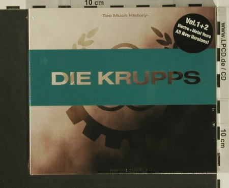 Krupps: Too Much History, Digi, FS-New, AFM(), EU, 2007 - 2CD - 97616 - 12,50 Euro