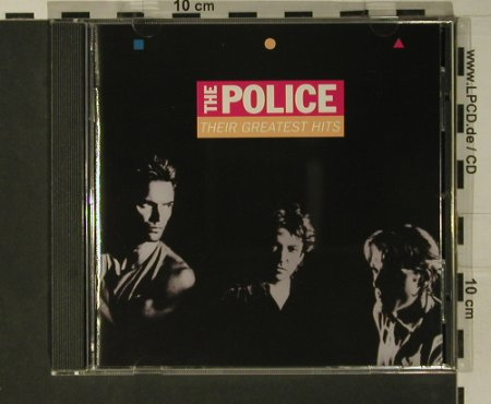 Police: Their Greatest Hits, AM(76 144 5), D, 1990 - CD - 97814 - 10,00 Euro