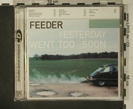 Feeder: Yesterday Went Too Soon,Lim.Ed., Echo(), UK, 1999 - 2CD - 97867 - 10,00 Euro