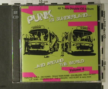 V.A.Punk in Sunderland: And Around The World,Vol.4,FS-New, Stretch Records(CD008), , 2006 - 2CD - 98154 - 10,00 Euro