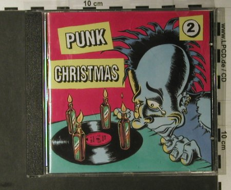 V.A.Punk Christmas: Vol. 2,Hass...Novotny TV,16 Tr., Nasty Vinyl(NV 80 cd), D, 1997 - CD - 98155 - 7,50 Euro