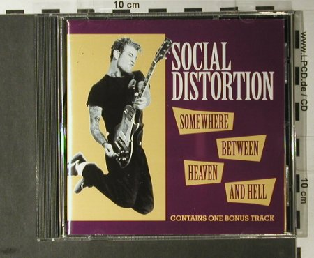 Social Distortion: Somewhere Between Heaven&Hell,11Tr, Epic(), A, 1992 - CD - 98159 - 7,50 Euro