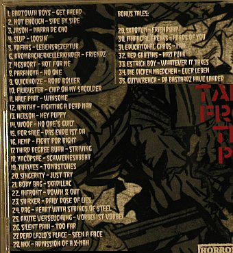V.A.28 Tales From The Pit: Badtown Boys...Gutwrench,35Tr., Horros Business Records(HBR 013), D,  - CD - 98243 - 10,00 Euro