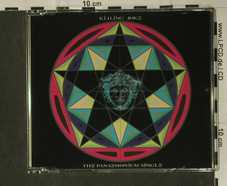 Killing Joke: The Panaemonium Single,5 Tr., Butterfly(159.1929.3 16), UK, 1994 - CD5inch - 98787 - 4,00 Euro