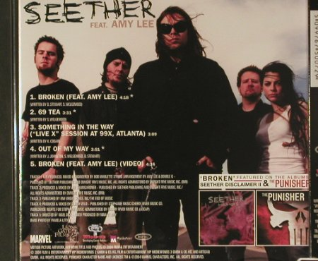 Seether  feat. Amy Lee: *Broken, Wind-up(WIN 675007 2), , 2004 - CD5inch - 98862 - 4,00 Euro