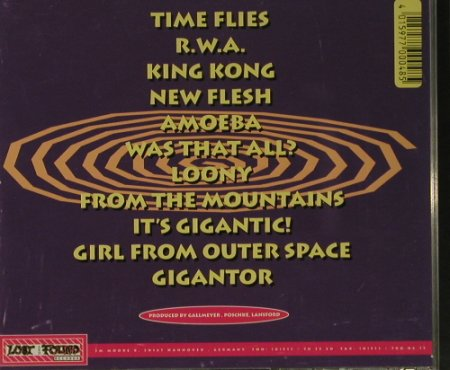 Gigantor: Magic Bozo Spin, Lost+Found(LF 074), D, 1994 - CD - 99150 - 7,50 Euro