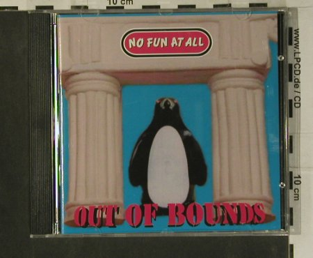 No Fun At All: Out Of Bounds, Burning Heart(BHR 031), S, 1995 - CD - 99152 - 10,00 Euro