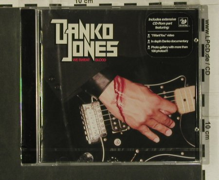 Jones,Danko: We Sweat Blood,12 Tr., FS-New, Bad Taste(BTR73), EU,  - CD - 99186 - 10,00 Euro