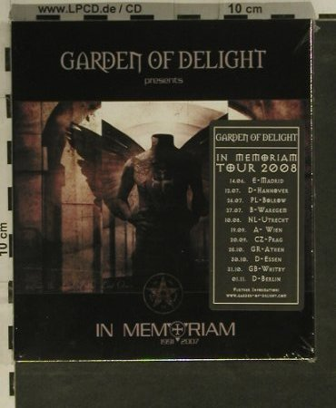Garden Of Delight: In Memoriam, FS-New, Trisol(Tri 337), EU, 2008 - 2CD - 99230 - 11,50 Euro