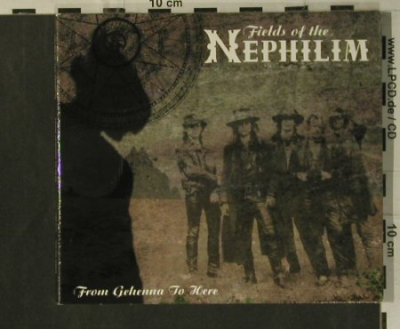 Fields Of The Nephilim: From Gehenna To Here, Digi, Santeria(SAN015L), I, 2001 - CD - 99267 - 10,00 Euro