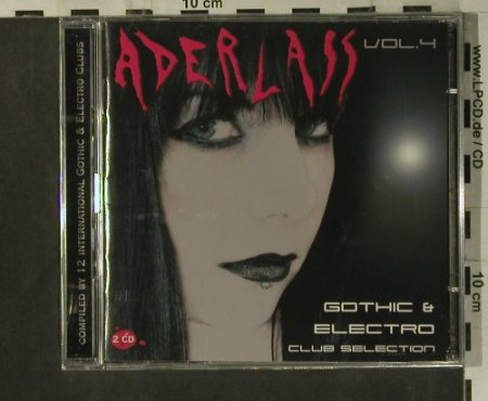 V.A.Aderlass Vol.4: Gothic & Electro ClubSelection, kom4(TOT23039), D, FS-New, 2006 - 2CD - 99272 - 12,50 Euro