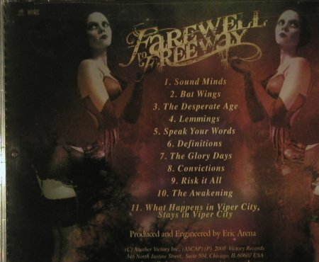 Farewell to Freeway: Definitions, FS-New, Victory(VR416), US, 2008 - CD - 99342 - 10,00 Euro