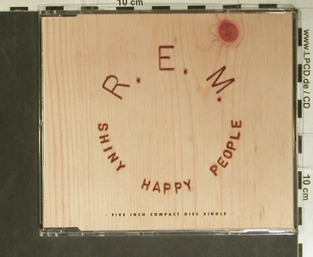 R.E.M.: Shiny Happy People+2, WB(), D, 1991 - CD5inch - 99368 - 4,00 Euro