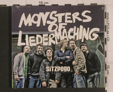 Monsters of Liedermaching: Sitzpogo,Digi, FS-New, M.o.L.(NT 0808), , 2008 - CD - 99616 - 11,50 Euro