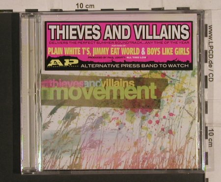 Thieves And Villains: Movement, FS-New, Victory(), , 2008 - CD - 99675 - 7,50 Euro