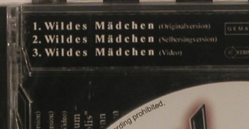 Brings,Andy: Wildes Mädchen  *3, FS-New, W-Prod.(), , 2008 - CD5inch - 99695 - 3,00 Euro