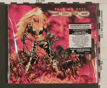 Doro: Fear No Evil, Digi, Lim.Ed., FS-New, AFM(AFM 233-9), EU, 2009 - CD - 80036 - 11,50 Euro
