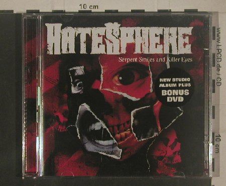 Hatesphere: Serpent Smiles and Killer Eyes, Steamhammer(98022), D, 2007 - CD/DVD - 80406 - 11,50 Euro