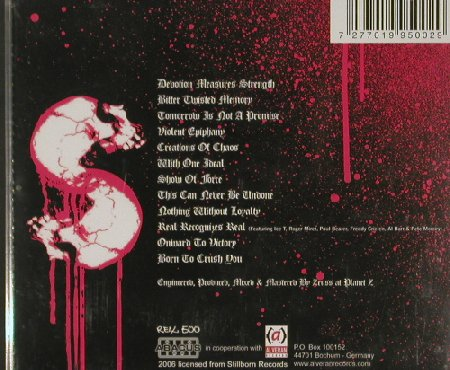 Icepick: Violent Epiphany, Stillborn Rec.(Real 500), , 2006 - CD - 80438 - 5,00 Euro