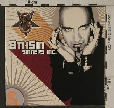 8th Sin: Sinners Inc., 11Tr. Promo,Digi, Black Lodge(), , 2004 - CD - 80584 - 5,00 Euro