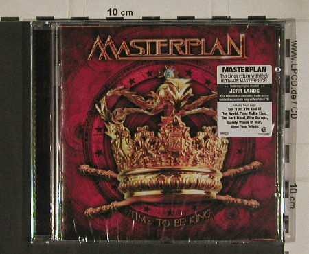 Masterplan: Time to be King, FS-New, AFM(AFM 234-2), , 2010 - CD - 80661 - 11,50 Euro