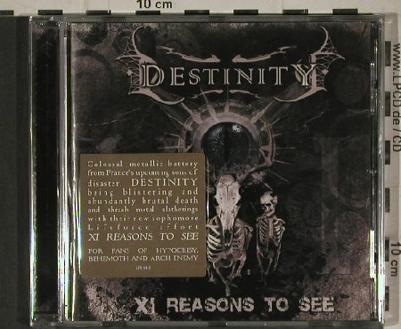 Destinity: 11 Reasons to See, FS-New, Lifeforce(), , 2010 - CD - 80677 - 5,00 Euro