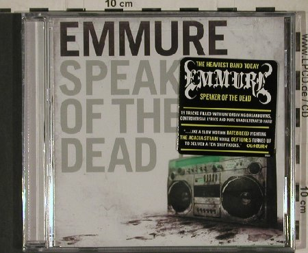 Emmure: Speaker of the Dead, FS-New, Victory(VR604), US, 2011 - CD - 80698 - 7,50 Euro