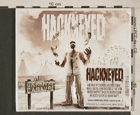 Hackneyed: Carnival Cadavre, Digi, FS-New, Lifeforce(LFR), D, 2011 - CD - 80765 - 10,00 Euro