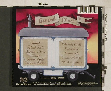 General Chaos: Calamity Circus, Digi, Cyclone Empire(CYC 073-2), D, 2010 - CD - 80774 - 7,50 Euro