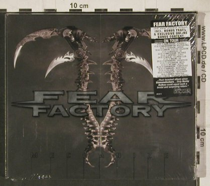 Fear Factory: Mechanize, Lim.Ed.FS-New, AFM(AFM 307-9), , 2011 - CD - 80827 - 10,00 Euro