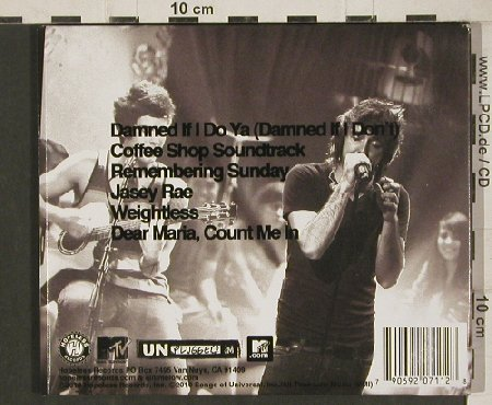 All Time Low: MTV Unplugged, Digi, Hopeless(), , 2010 - CD/DVD - 80871 - 5,00 Euro