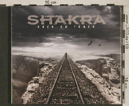 Shakra: Back on Track, Digi, FS-New, AFM(342-9), , 2011 - CD - 80872 - 10,00 Euro