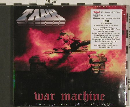 Tank: War Machine, Digi, FS-New, Metal Mind(MASScd1403DG), PL, 2010 - CD - 80900 - 10,00 Euro