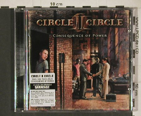 Circle II Circle: Consequence of Power, FS-New, AFM(AFM 327-2), EU, 2010 - CD - 80933 - 7,50 Euro