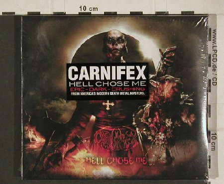 Carnifex: Hell Chose Me, FS-New, Victory(VR540), US, 2010 - CD - 80950 - 7,50 Euro