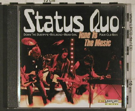 Status Quo: Tune To The Music, 16 Tr., LaserLight(21102), D, 2000 - CD - 81043 - 7,50 Euro