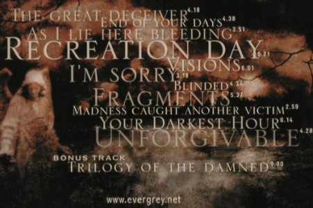 Evergrey: Recreation Day, Lim.Ed., InsideOut(IOLMTDcd 117), D, 2003 - CD - 81237 - 10,00 Euro