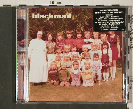 Blackmail: Same, remastered, 2 Bonus, FS-New, Mate in Germany(MIG 008), , 2008 - CD - 81279 - 10,00 Euro