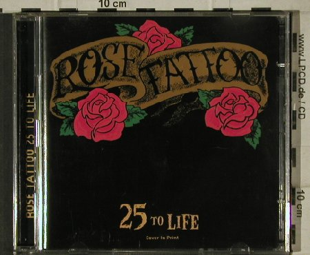 Rose Tattoo: 25 To Life, Pre Cover Promo,17Tr., Steamhammer(), D, 2000 - 2CD - 81423 - 12,50 Euro