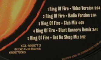 H-Blockx vs.Dr.Ring-Ding: Ring Of Fire*5, X-Cell Rec(), D, 2000 - CD5inch - 81470 - 2,50 Euro