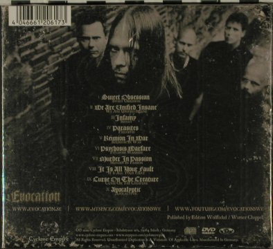 Evocation: Apocalyptic, Digi, FS-New, Cyclone Empire(CYC 065-0), D, 2010 - CD/DVD - 81605 - 11,50 Euro